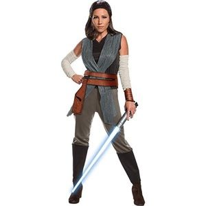 NWT Star Wars Rey Costume Size Large